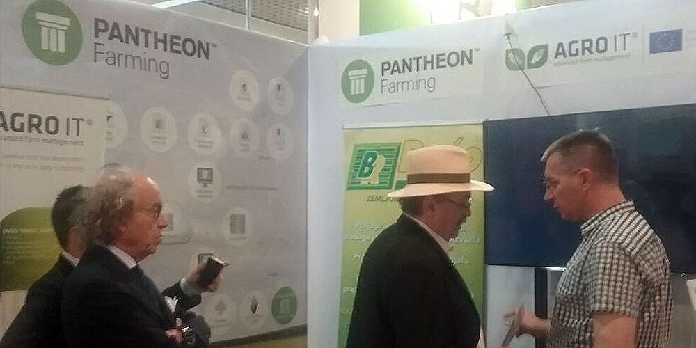 PANTHEON Farming at 83rd International Agricultural Fair in Novi Sad