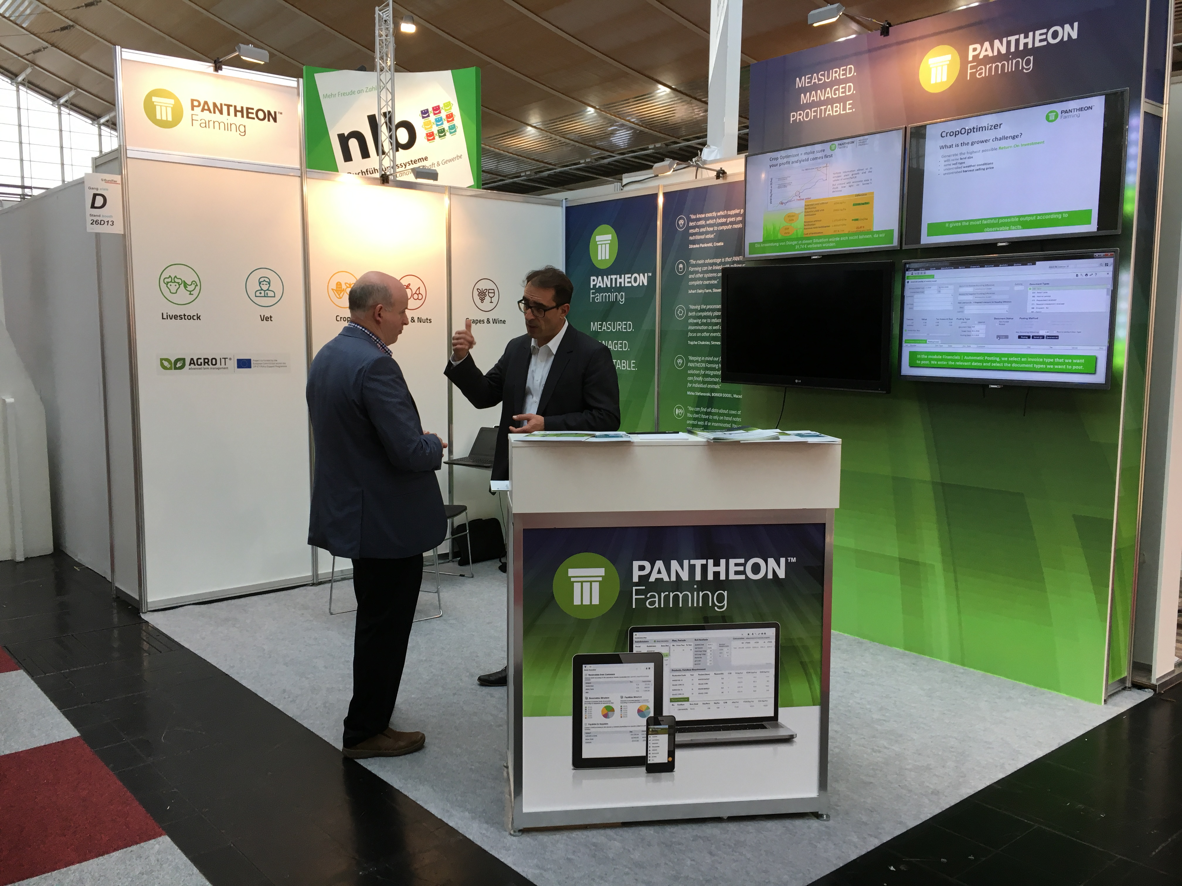 PANTHEON Farming at Eurotier 2016, the world leading trade fair for animal production
