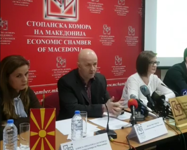 Macedonian Chamber of Commerce and Datalab Macedonia held a Press Conference